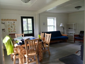 Swan Lake Ranger Station Dining Room
