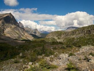 Eremite Valley in Jasper National Park