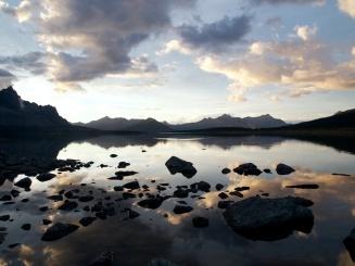 Amethyst Lake in Jasper National Park